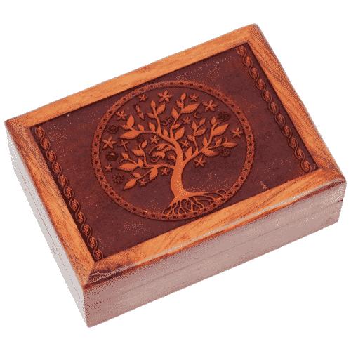 Tarotdoos Tree of Life Gegraveerd