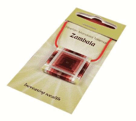 Mandala Talisman Hanger Zambala
