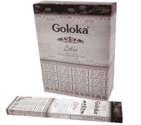 Goloka Wierook Lotus (12 pakjes)