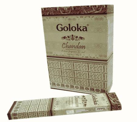 Goloka Wierook Chandan (12 pakjes)