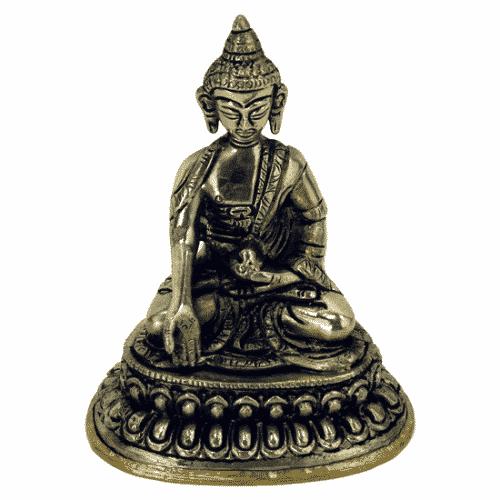 Minibeeldje Boeddha Ratnasambhava (10 cm)