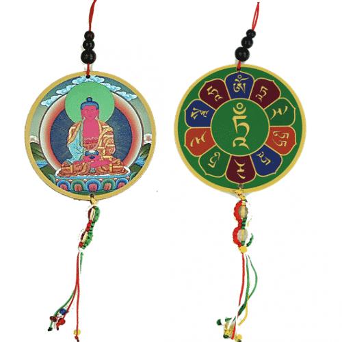 Auto- of Raamhanger Amitabha & Dorje
