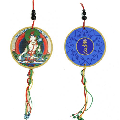 Auto- of Raamhanger Witte Tara & Dorje