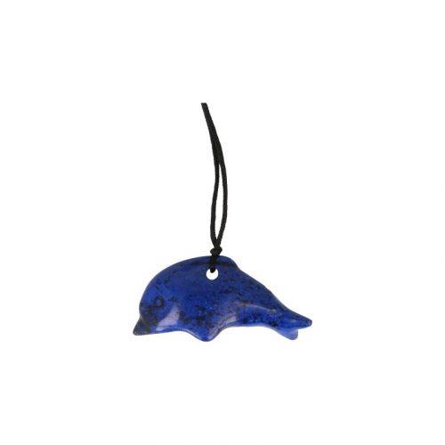 Dolfijn Hanger Howliet Blauw (Doorboord)