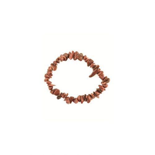 Edelsteen Splitarmband Goldfluss