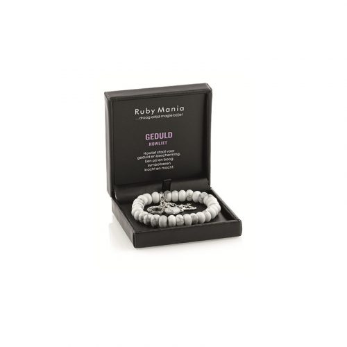 Edelsteen Armband Howliet Rond Ruby Mania