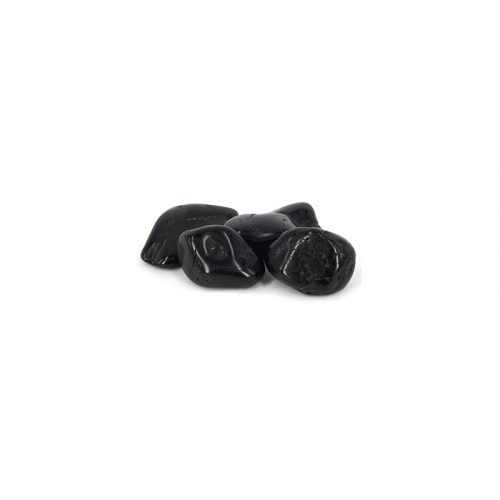 Trommelstenen Toermalijn Zwart (2-10 mm) - 25 gram