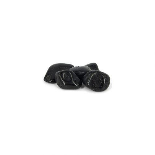 Trommelstenen Toermalijn Zwart (20-30 mm) - 50 gram