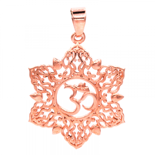Hanger Ohm Lotus Koperkleur