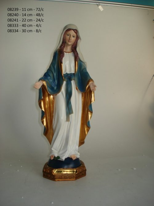 Beeld van Maria Miraculeuse (22 cm)