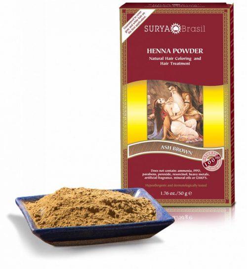 Surya Brasil Vegan Haarverf Powder Ash Brown