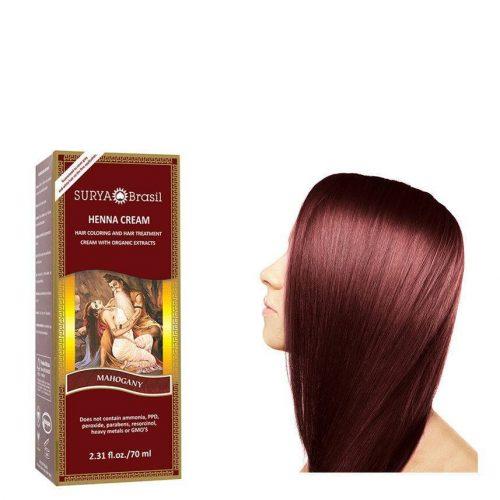 Surya Brasil Vegan Haarverf Cream Mahogany