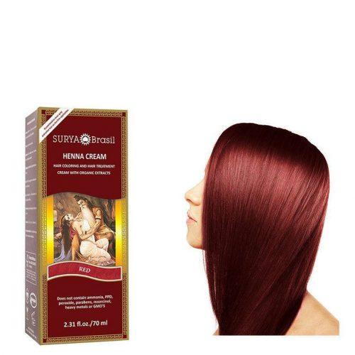 Surya Brasil Vegan Haarverf Cream Red