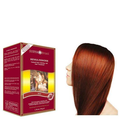 Surya Brasil Vegan Haarverf Powder Red