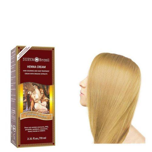 Surya Brasil Vegan Haarverf Cream Swedish Blonde