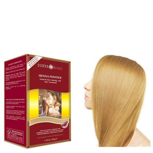 Surya Brasil Vegan Haarverf Powder Swedish Blonde