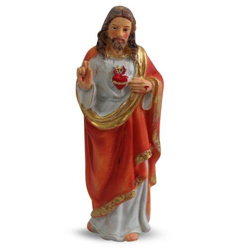 Beeld van Jezus Heilig Hart (12 cm )