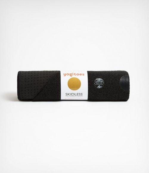 Manduka Yogitoes Skidless Yoga Handdoek - Onyx