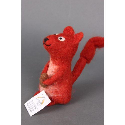 Eierwarmer Eekhoorn (Rood)