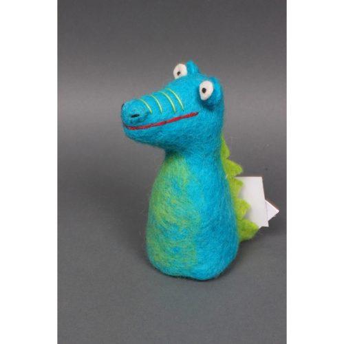 Eierwarmer Kleine Draak (Blauw)
