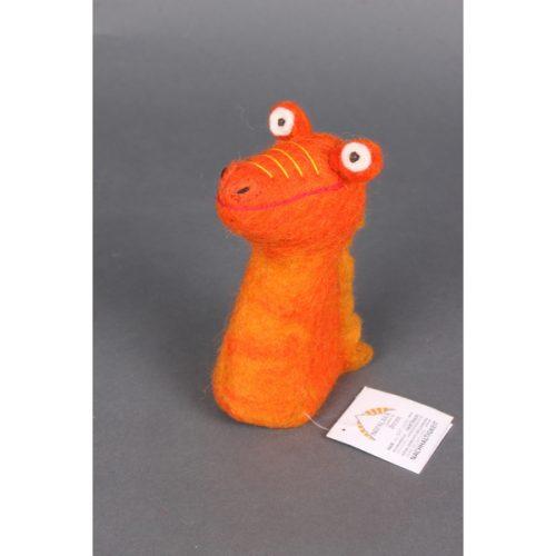 Eierwarmer Kleine Draak (Oranje)