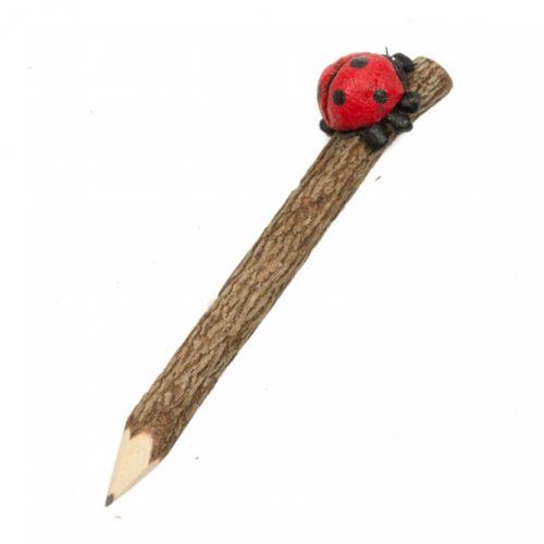 Potlood met Lieveheersbeestje (20 cm)