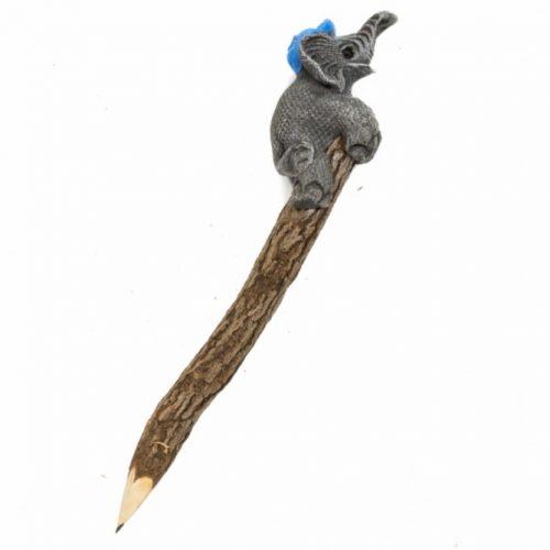 Potlood met Olifant (20 cm)