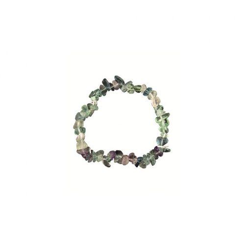 Edelsteen Splitarmband Fluoriet (13 cm)