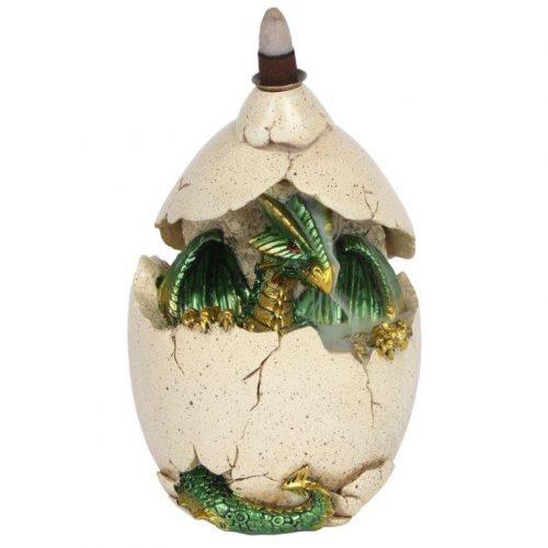 Backflow Wierook Brander Groene Draak in Ei