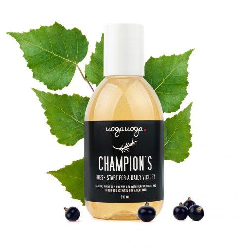 Uoga Uoga Shampoo Body Wash Vegan Champion's