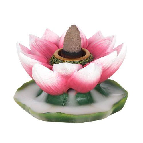 Backflow Wierookbrander Kleurige Lotusbloem