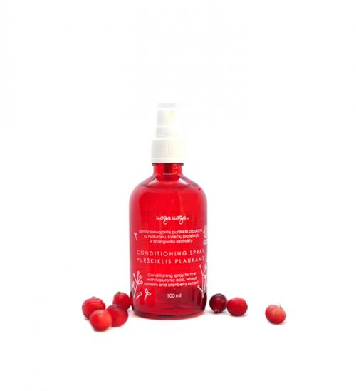 Uoga UogaConditioning Spray Vegan - met Hyaluron en Cranberry