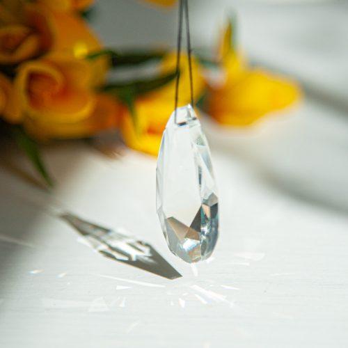 Regenboogkristal Facet Druppel Medium (38 mm)