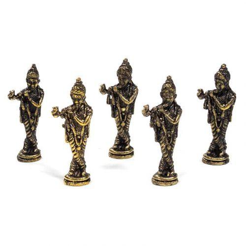 Minibeeldje Krishna (4 cm)