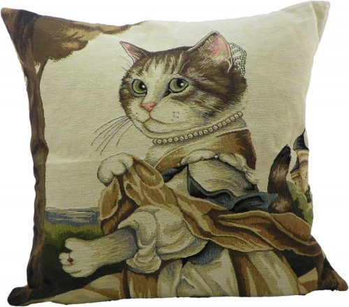 Gobelin Kussen Aristo Kat Lady (45 x 45 cm)