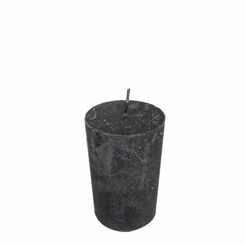 Zwart Metallic Stompkaars (8 x 5 cm)