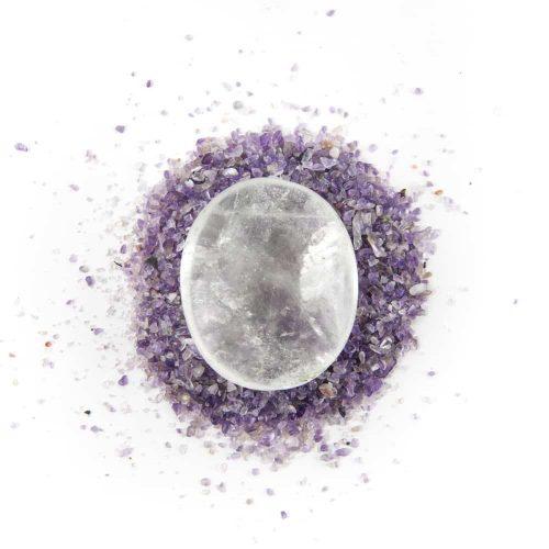 Zaksteen Bergkristal