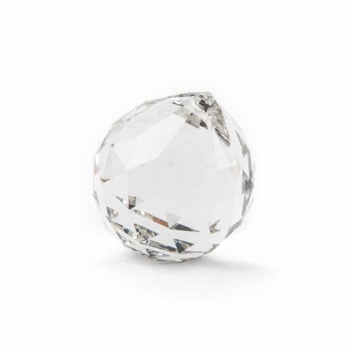 Regenboogkristal Bol Transparant (50 mm)