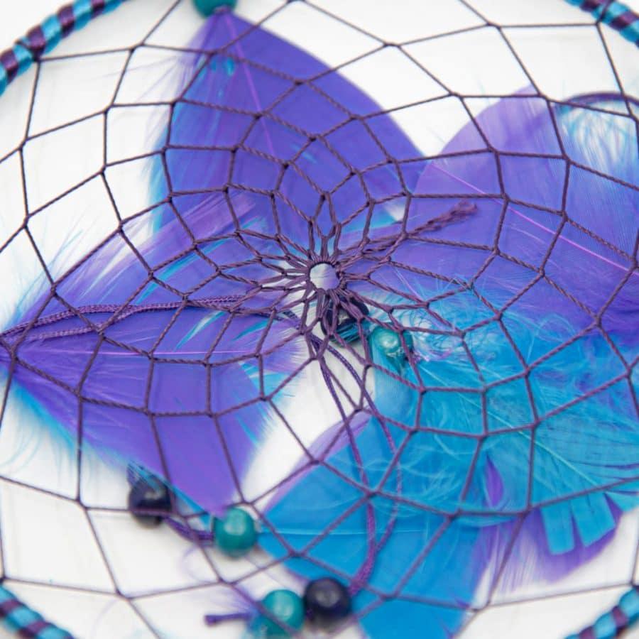 dromenvanger mandala paars blauw
