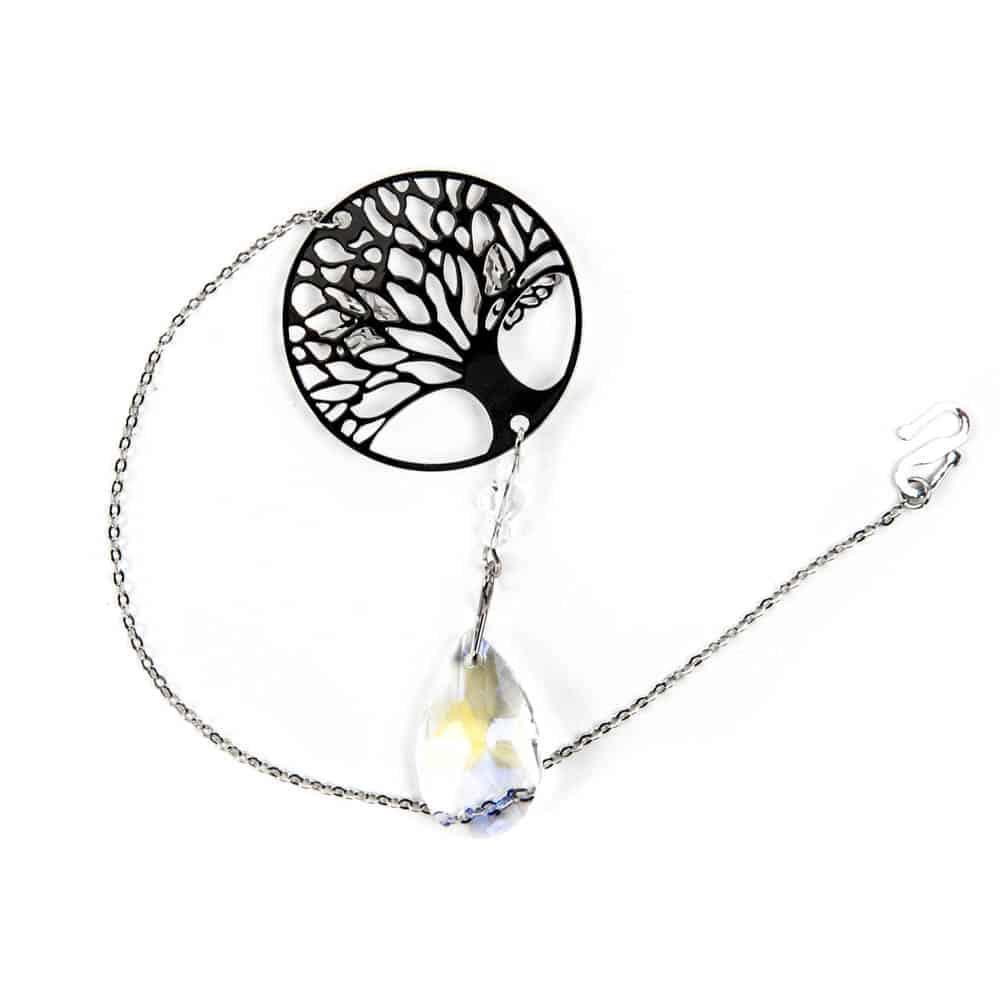 levensboom hanger met kristal