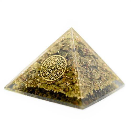 Orgonite Piramide Epidoot - Flower of Life (70 mm)