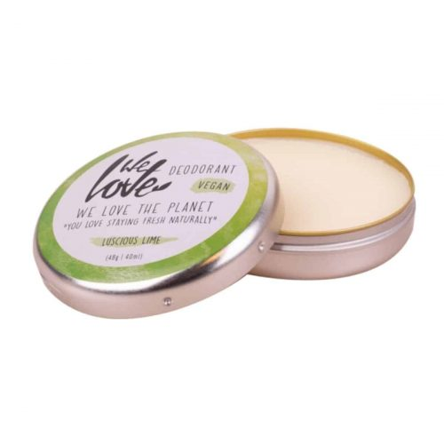 Natuurlijke Vegan Deodorant Crème Luscious Lime