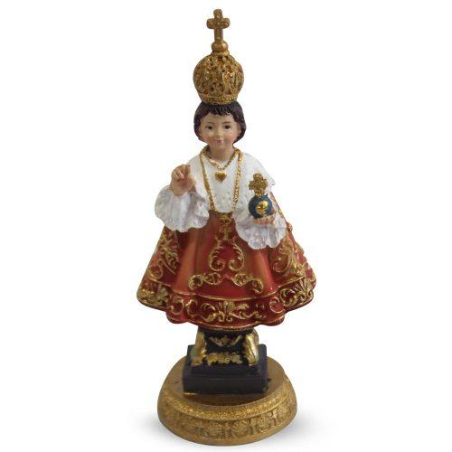 Beeldje van het Kindje Jezus van Praag (12 cm)