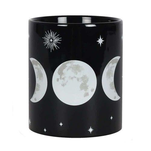 """Zwarte Beker """"Triple Moon"""""""