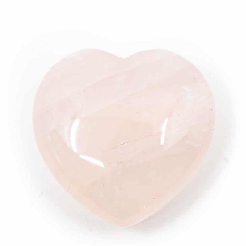 Edelstenen Hart Rozenkwarts (30 mm)