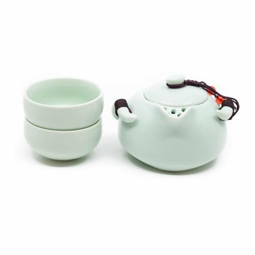 Traditionele Chinese Thee Set Mintgroen