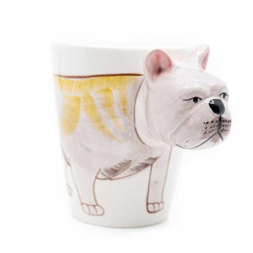 Beker Handgeschilderd Bulldog