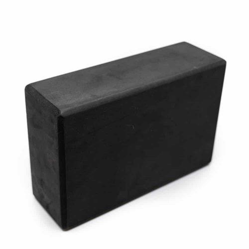 Spiru Yoga Blok EVA-Schuim Zwart Rechthoekig - 22 x 15 x 7.5 cm