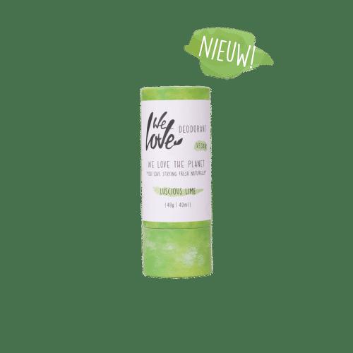 Natuurlijke Deodorant Stick Luscious Lime (Vegan)