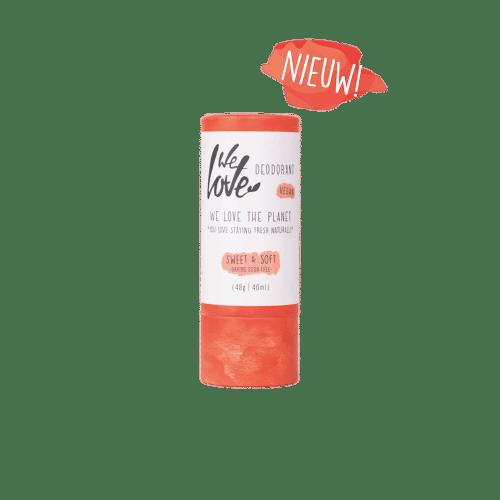 Natuurlijke Deodorant Stick Sweet&Soft (Vegan)